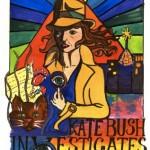"""Der Comic """"Kate Bush Investigates. (Bild mit freundlicher Genehmigung von Anna-Christine)"""