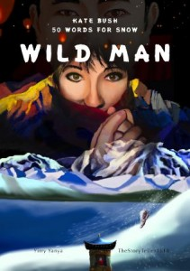 Wild Man Comic Cover / Yirry Yanya