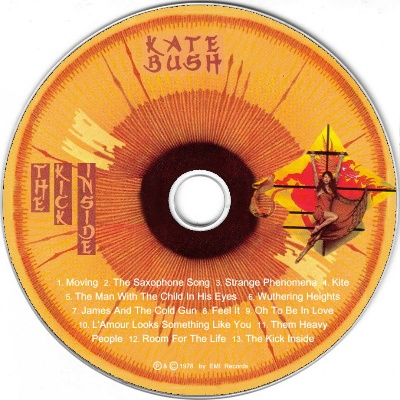 Kate Bush - The Kick Inside (Netherlands) - CD